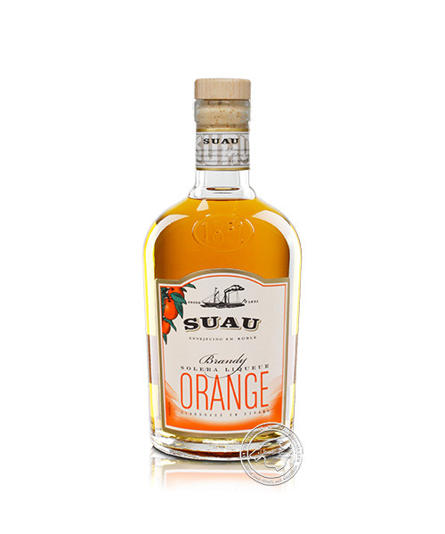 Suau Brandy-Orange, 37 % vol, 0,7-l-Flasche